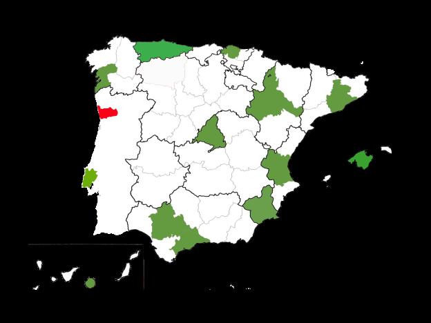 PLANTILLA MAPA ESPAÑA JUNIO 2017