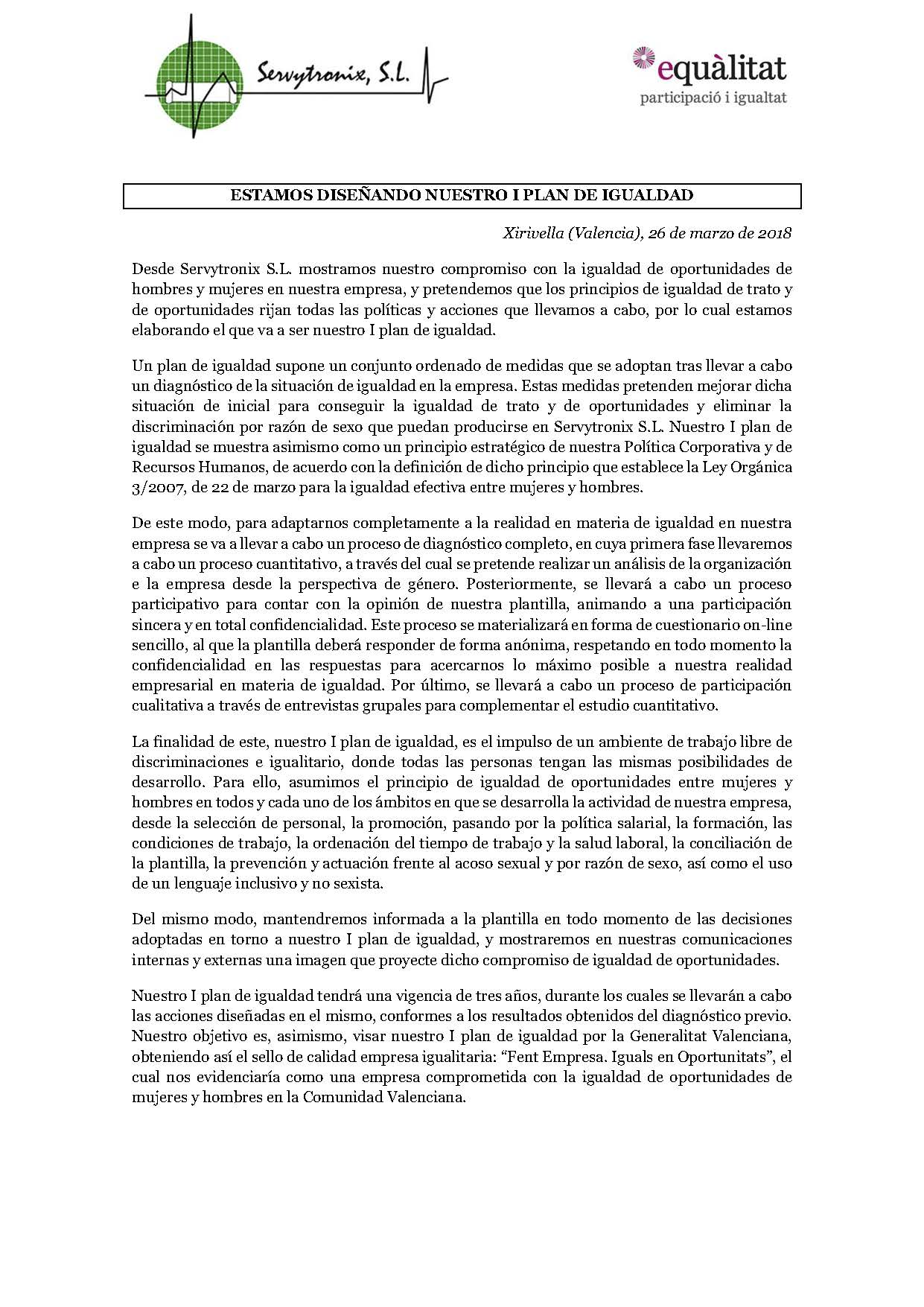 I PIO-Servytrronix-Nota de prensa