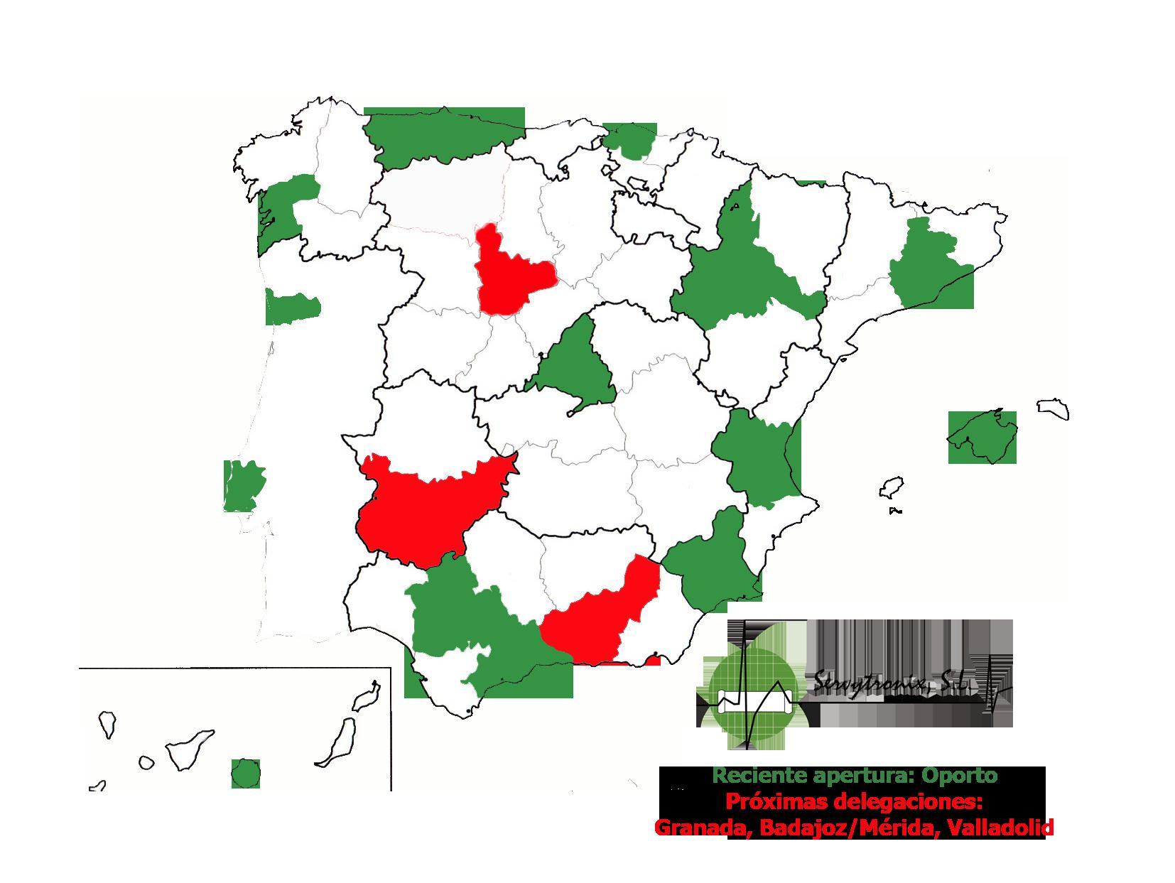PLANTILLA MAPA ESPAÑA diciembre 2018